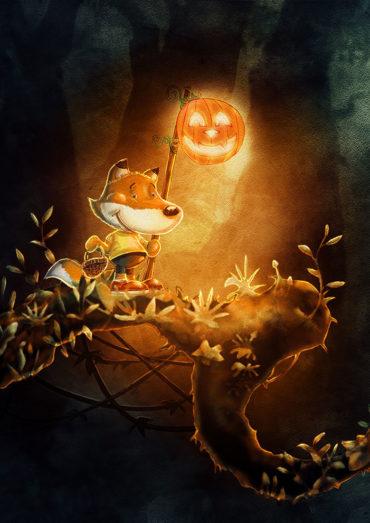 Mini Nino recherche éditeurs halloween